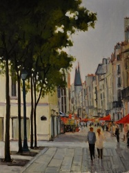 A Favorite Scene, Paris *SOLD*