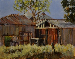 Barns and Silos *SOLD*