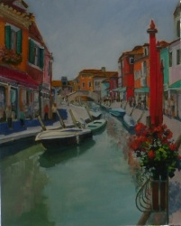 Burano Canal - SOLD