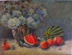 Summer Flowers and Fruit