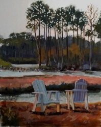 Orange Beach Dusk*SOLD*